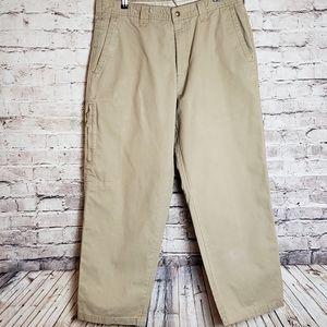 Mens Columbia Khaki Cargo Pants 36x30